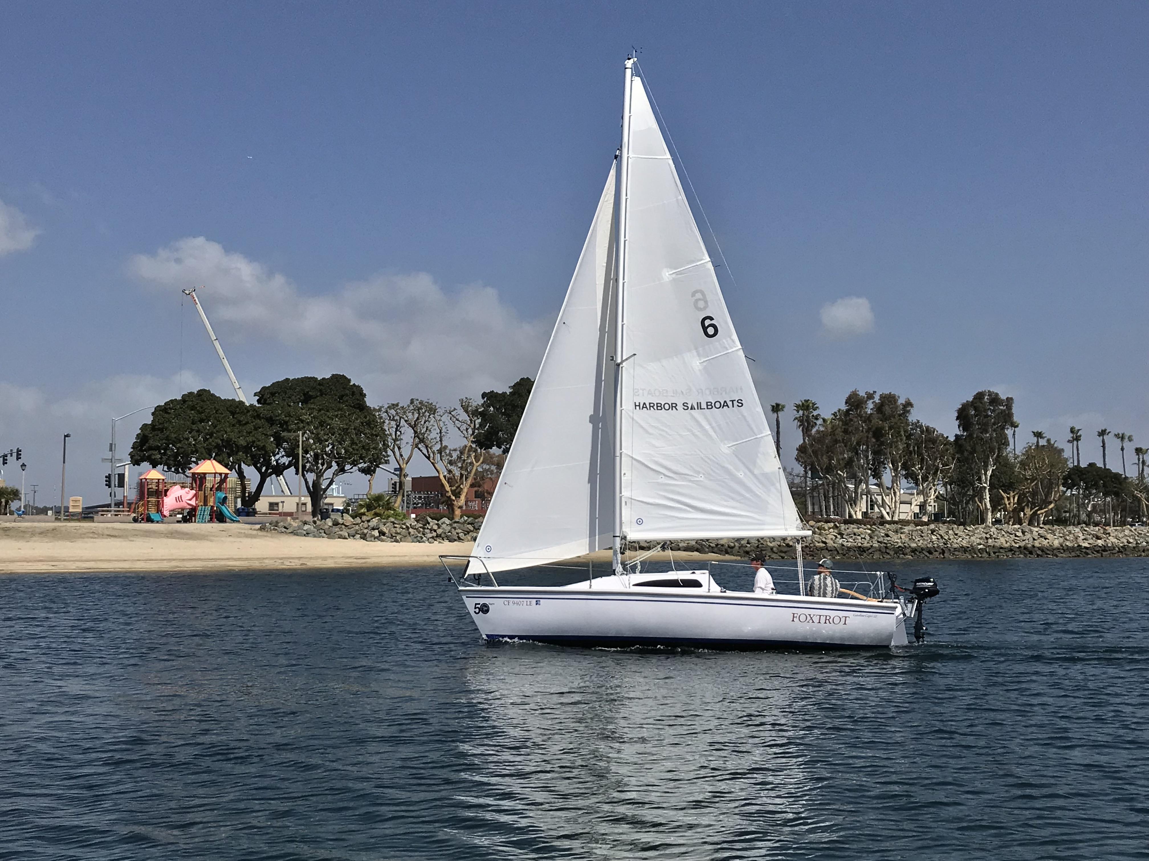 San Diego Sailboat Rentals - Bareboat Charters at Harbor